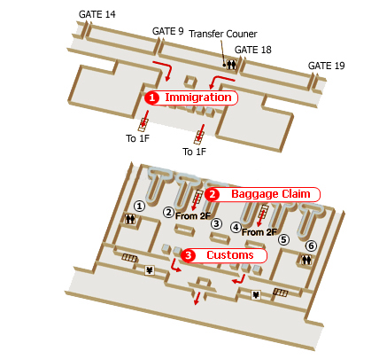 Tan Son Nhat Airport Map